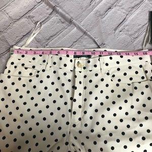 Lauren Ralph Lauren Pants & Jumpsuits - Lauren Ralph Lauren white & black polka dot pants